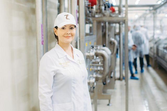 Директор ОАО «Туровский молочный  комбинат» Ольга ЛУЦКО: «В портфеле предприятия много не только вкусных, но и полезных продуктов».