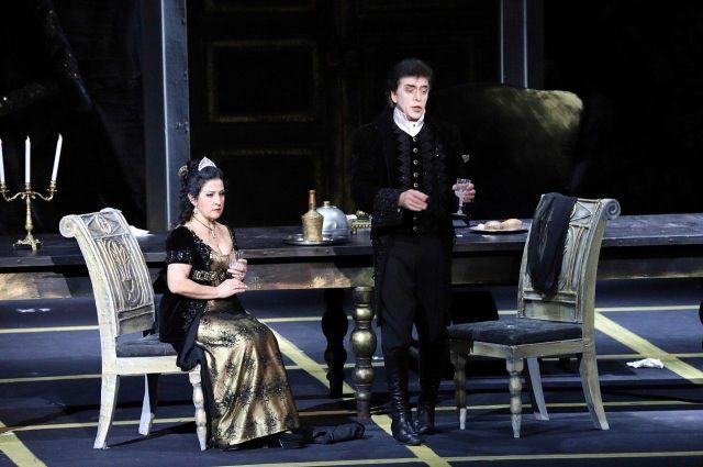 Нынешняя постановка этой оперы - шестая в истории Большого театра Беларуси.