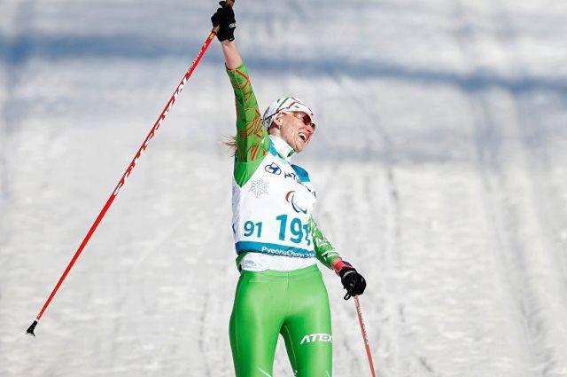 Светлана Сахоненко стала троекратной чемпионкой Паралимпиады-2018.