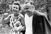Сергей Королев с женой Ниной Ивановной.