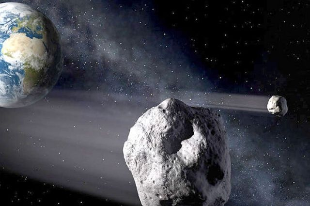 Алмазы спогибшей планеты отыскали внутри метеоритов