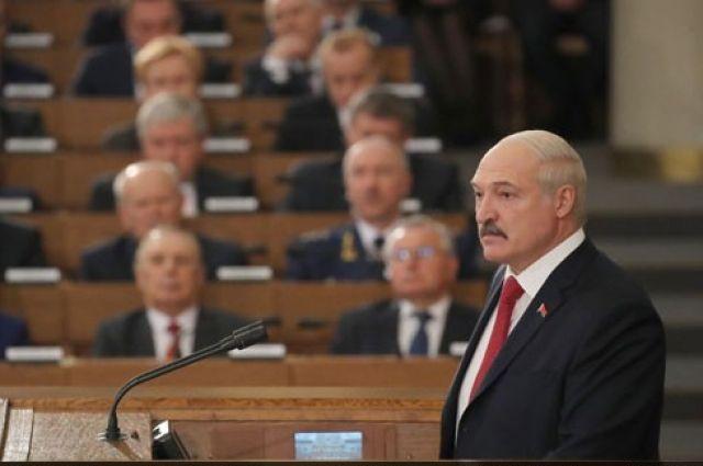 О чем президент Беларуси рассказал в ежегодном Послании