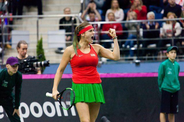 Белорусские теннисистки сохранили место в Мировой группе Кубка Федерации