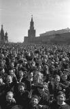 На Красной площади 9 мая 1945 года