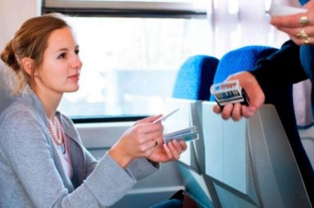При отсутствии на станции или в остановочном пункте билетной кассы можно сесть в поезд без билета.