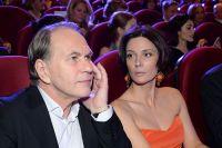Алексей Гуськов с супругой Лидией Вележевой.