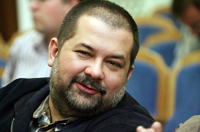 Писатель-фантаст Сергей Лукьяненко.