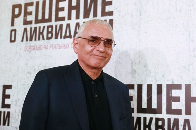 Карен Шахназаров на премьере фильма «Решение о ликвидации».