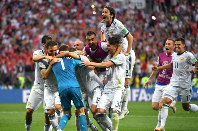 Историческая победа сборной России!