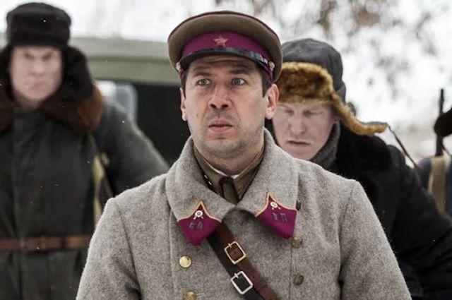 Андрей Мерзликин в фильме «Прощаться не будем».