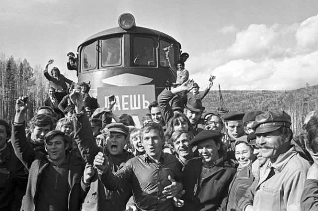 НА строительстве Байкало-Амурской магистрали с комарами боролись весьма успешно.