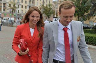 В августе прошлого года Герасименя и Цуркин поженились.