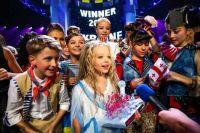 Победительница детского «Евровидения-2012» из Украины Анастасия Петрик.