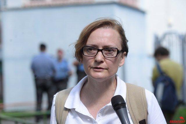 На фото главный редактор БелаПАН Ирина Левшина.