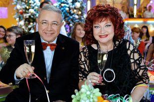 Евгений Петросян и Елена Степаненко. 2009 г.