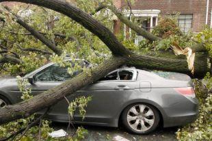 Если машина застрахована, то ущерб возместит страховая компания.