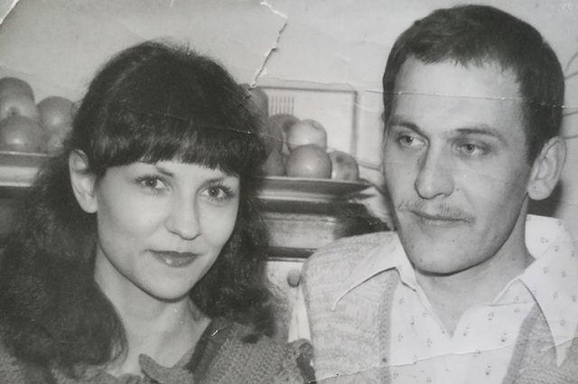 Алена Атраховiч з мужам Анатолем Александровiчам.
