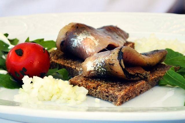 Во многих городах Дании есть специализированные магазины, торгующие только бутербродами.