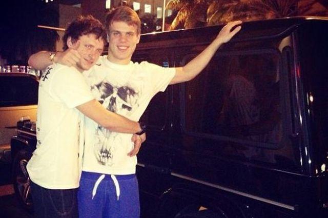 Александр Кокорин и Павел Мамаев.