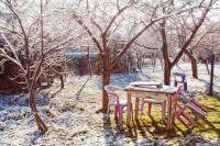 До конца ноября с грядок, под кустарниками и деревьями необходимо убрать всю растительность.