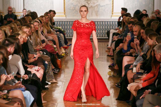 На показе модной одежды Candy Lady – бренда, созданного Ольгой Барабанщиковой.