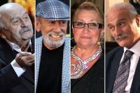 Резо Чхеидзе, Вахтанг Кикабидзе, Софико Чиаурели, Кахи Кавсадзе