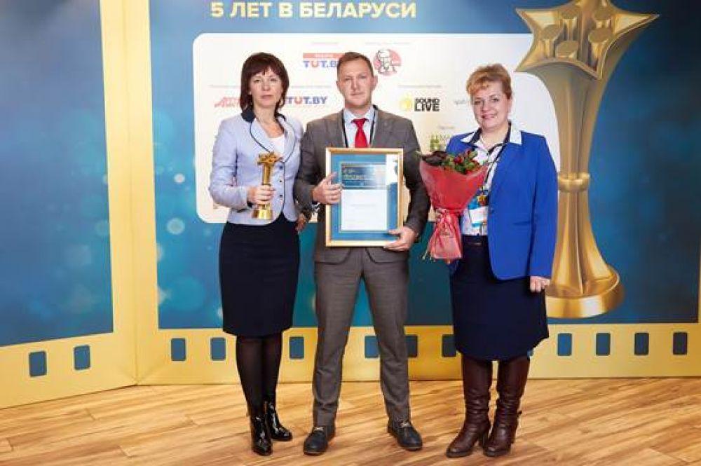 Номинация «Большое сердце». Победитель: ОАО «АСБ Беларусбанк». Проект: «Беларусбанк. Родительский дом».