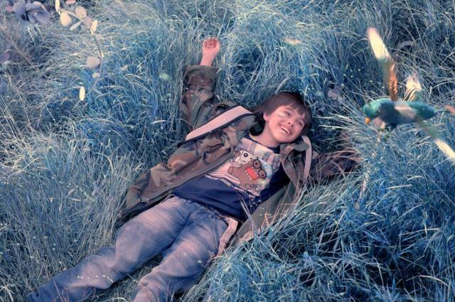 Кадр из фильма «За синей дверью» Мариуша Палея.