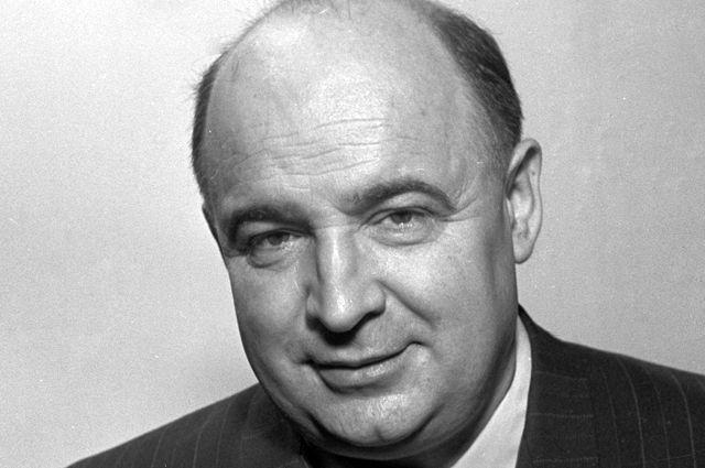 Советский кинорежиссер Александр Роу. 1955 г.