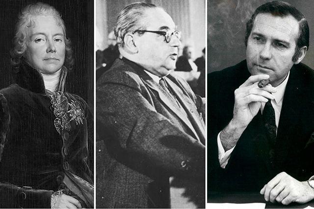 Шарль Морис де Талейран, Герман Кастнер, Джон Стоунхаус.