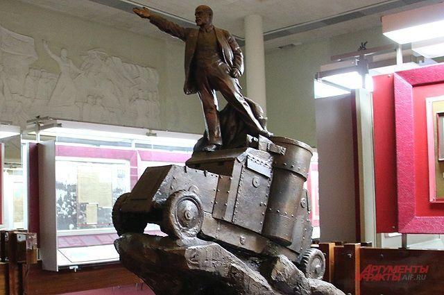 Один из многочисленных экспонатов мемориала-музея вождя мирового пролетариата.