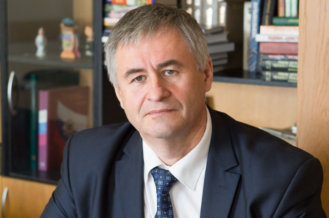 Министр информации Республики Беларусь Александр КАРЛЮКЕВИЧ.