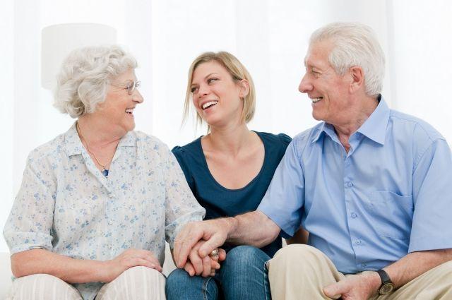 Пожилые люди в целом воспринимают жизнь более позитивно.