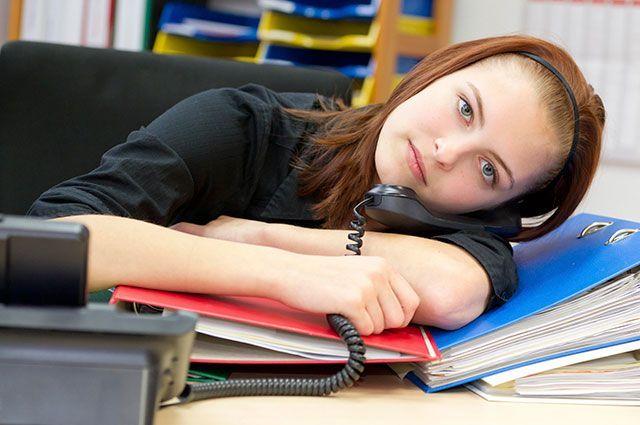 Девушка пишет что устала на работе работа водителем в москве девушка