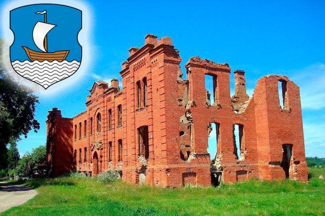 От земской больницы, построенной в 1902 году, остались лишь живописные развалины.
