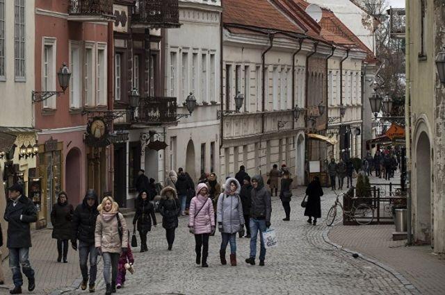 Белорусы охотно ездят в Вильнюс.