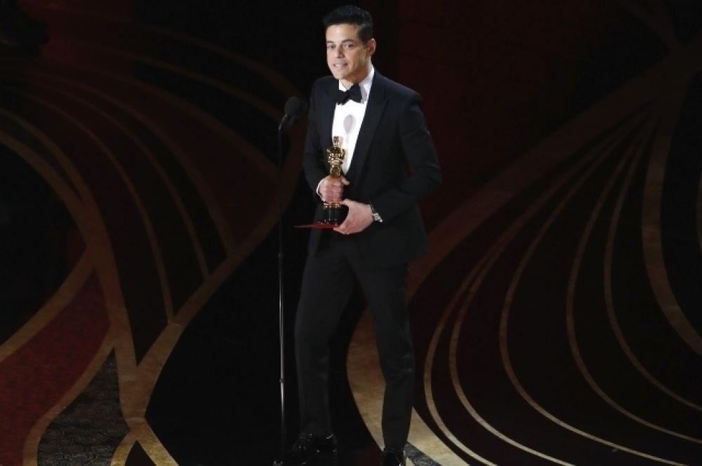 Лучшим актёром стал Рами Малек, «Богемская рапсодия»