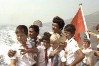 Попасть в «Артек» было мечтой каждого советского пионера.