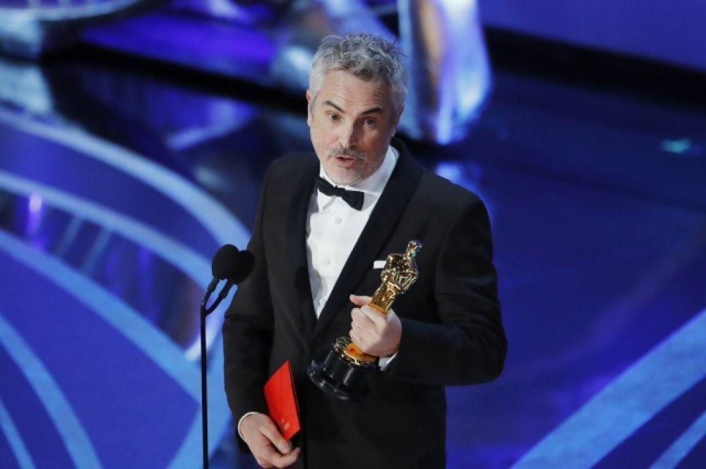 Премию лучшему режиссеру вручили Альфонсо Куарону за фильм «Рома».