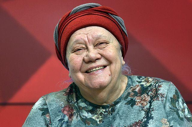 Актриса Галина Стаханова.