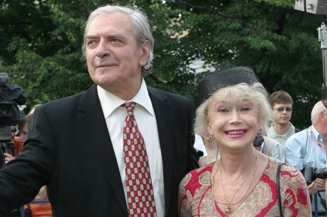 Светлана Немоляева и Александр Лазарев.