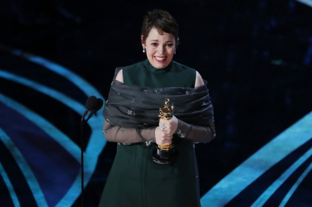 Статуэтка за лучшую женскую роль досталась Оливии Колман, «Фаворитка»