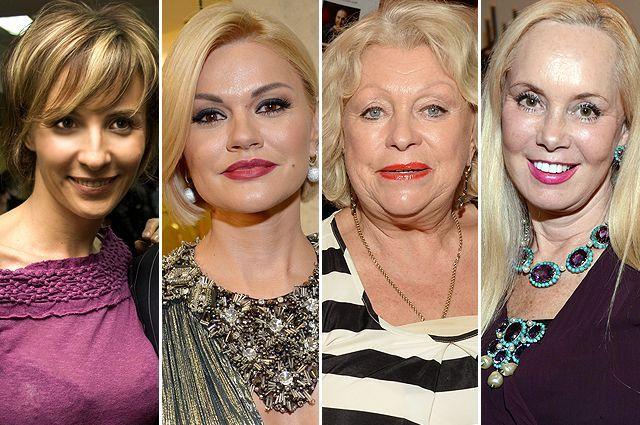 Ирина Турчинская, Ирина Круг, Людмила Поргина, Нелли Кобзон.
