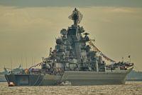Атомный крейсер Петр Великий.