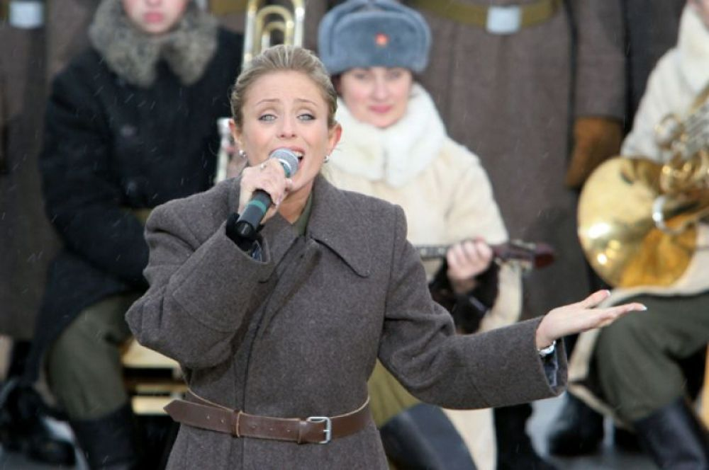 Юлия Началова. 2004 год.