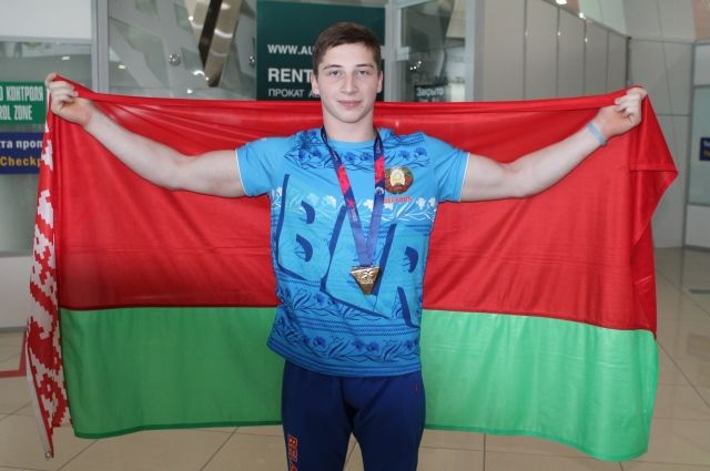 Надежда белорусской спортивной гимнастики Святослав Драницкий.