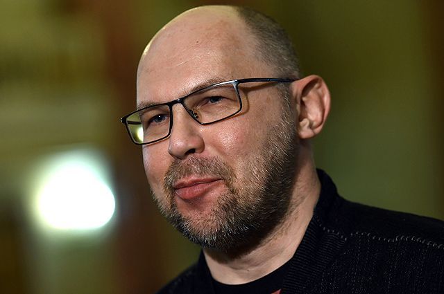 Писатель Алексей Иванов.