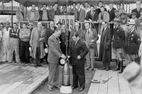 Закладка «капсулы времени» в Нью-Йорке сроком на 5 тыс. лет, 1939 г.