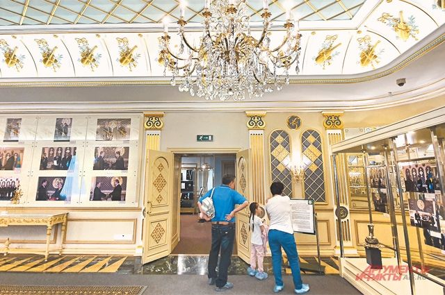 Музей первого президента Казахстана.