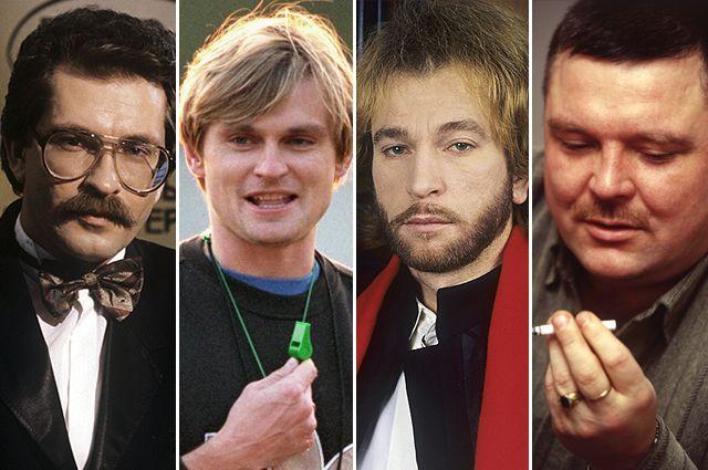 Владислав Листьев, Юрий Тишков, Игорь Тальков, Михаил Круг. ©